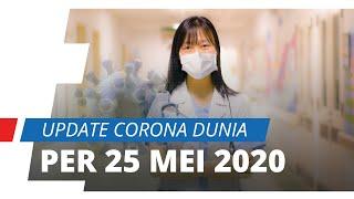 Update Corona Dunia per 25 Mei 2020, Italia Alami Penurunan Kasus dan Menjadi Peringkat ke-6
