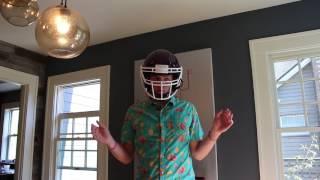 Vicis High-tech Football Helmet Unboxing