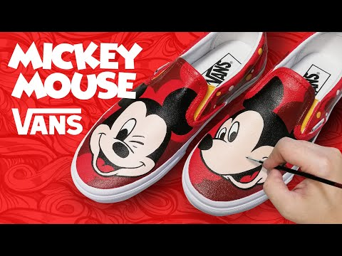 MICKEY MOUSE X VANS SNEAKER CUSTOM