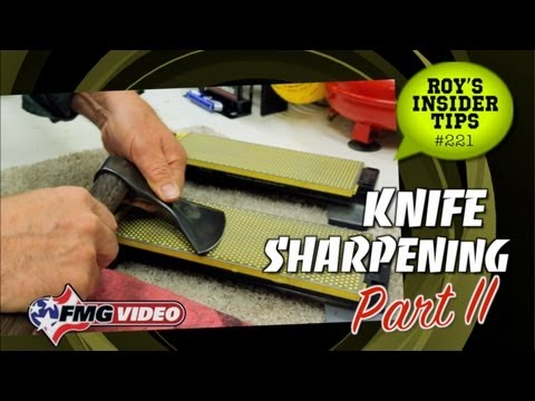 Knife Sharpening: Part 2