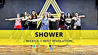 Shower || Becky G. || Cardio Dance Workout || REFIT® Revolution by REFITREV