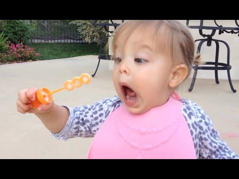 Cute Babies Blowing Bubbles Compilation 2015