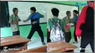Video Eksklusif Penjelasan 'Pak Guru Joko' Tekait Video Viral Guru Dikeroyok Murid di Kendal