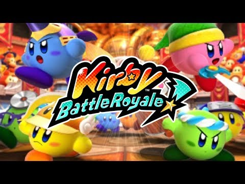 Kirby Battle Royale - Story Mode Part 1: Beginner's League! [Nintendo 3DS Gameplay]