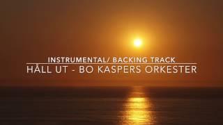 """Video thumbnail of """"Håll ut Bo Kaspers orkester backing track"""""""