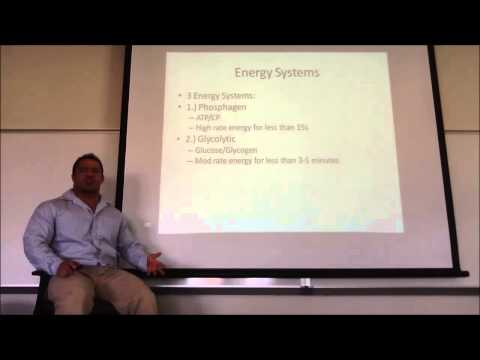 Lecture 2 (Exercise Physiology Basics) of the online personal ...