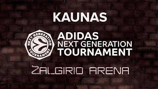 ANGT Kaunas: Zalgiris Kaunas - Canarias Basketball Academy
