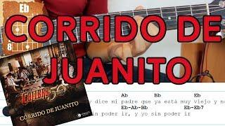 Corrido de Juanito - Calibre 50 - Guitarra Tutorial