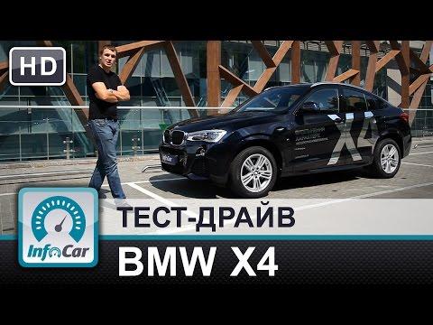 Bmw  X4 F26 Паркетник класса J - тест-драйв 1