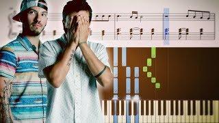 MY BLOOD (twenty One Pilots) - EASY Piano Tutorial + SHEETS
