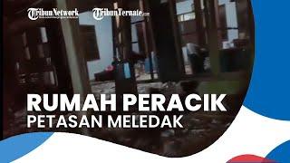 Rumah Peracik Petasan Meledak di Malam Takbir, 3 Orang Tewas 5 Luka-luka hingga Rumah Hancur