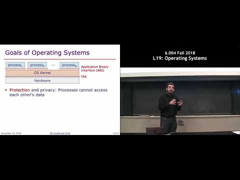 MIT 6.004 L19: Operating Systems