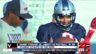 Male Athlete of the Week: Sammy Stewart Jr.