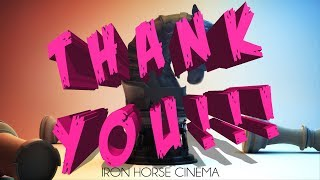 Thank You from Iron Horse Cinema!