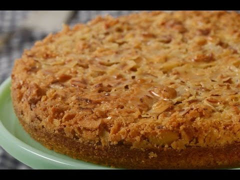 Video Almond Cake Recipe Demonstration - Joyofbaking.com