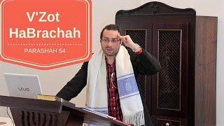 Parashah 54 V'Zot HaBrachah / Passo a Passo para o Arrependimento