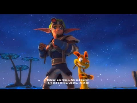 PlayStation Move Heroes Intro Cutscene - Thrown Together HD