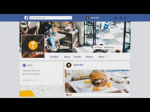 Download Facebook Profile Promo After Effects Template Video