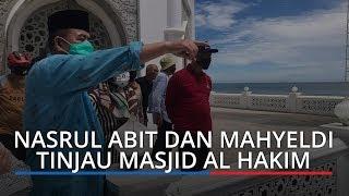 Nasrul Abit dan Mahyeldi Tinjau Masjid Al-Hakim Pantai Padang, Bakal Jadi Ikon Wisata Halal