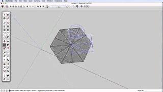 SketchUp Skill Builder: Snowflakes
