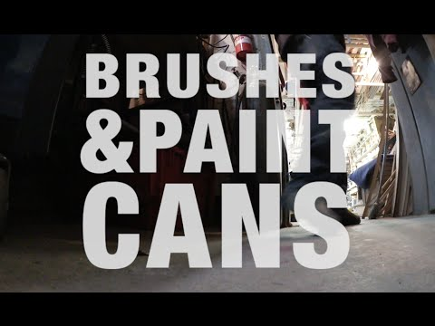 Keep A Touch Up Paintbrush Fresh Overnight With A Can And Latex Glove