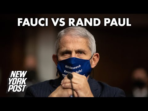 Fauci and Rand Paul clash over Cuomo, NY handling of COVID-19 | New York Post