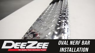 In the Garage with Total Truck Centers: Dee Zee Oval Nerf Bars