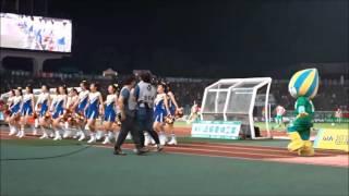 FC岐阜ハーフタイムショー【中京高校チアリーダー部×ミナモ】