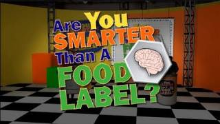 The Food Label And You: Game Show Review (Are You Smarter Than A Food Label?)