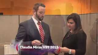 Claudia Mirza: Hispanic Business Salute 2015