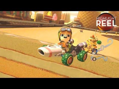 Bowser Gets Banana Bombed In Mario Kart