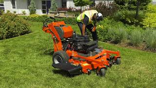 How to Start, Use & Operate a Commercial Walk Behind Gas Lawn Mower   Husqvarna