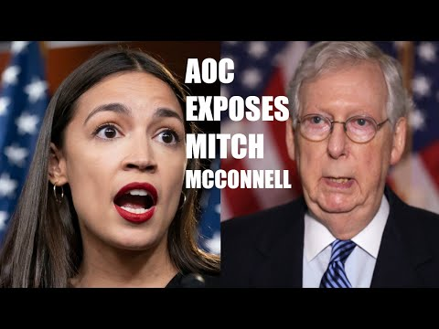 AOC EXPOSES Mitch McConnell For Forcing Legal Immunity For Corporations Into COVID Relief Bill!