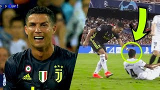 Did Cristiano Ronaldo Deserve A Red Card? Look What Ronaldo Did BEFORE and AFTER the Red Card !