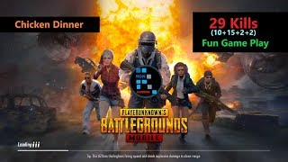 "[Hindi] PUBG Mobile | ""29 Killls"" With Squad & Fun Game Play"