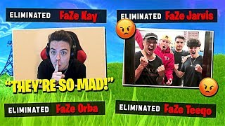 I Stream Sniped The FaZe House & THEY BROKE IN...