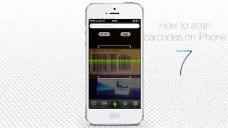How to Scan Barcodes via iPhone and iPad Running on iOS 7