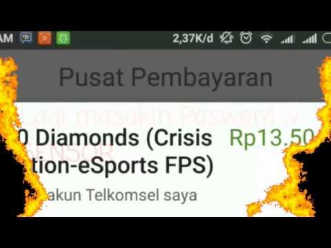 """Video """"CRISIS ACTION"""" - Cara Membeli VIP Dengan Pulsa"""