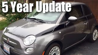 What I've learned about my Fiat 500 after 5 years