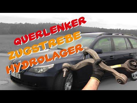 BMW e60 e61- DIY Hydrolager Querlenker Zugstrebe