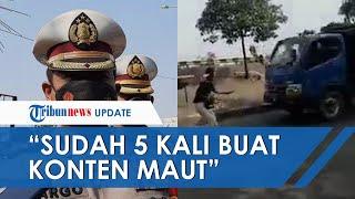 Gara-gara Ikut Challenge Malaikat Maut di TikTok, Seorang Remaja di Bekasi Tewas saat Mengadang Truk