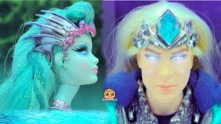 King VS Queen Magic Battle - King of the Crystal Cave Gold Label Collection Barbie Doll Video