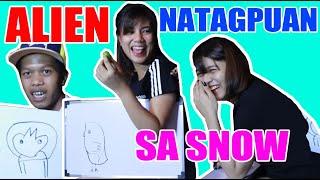 New talent snow !! | ISULAT MO HUHULAAN KO | Talent Entertainment