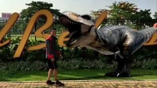 Dinosaurus di Bekasi