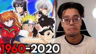 Raafey REAGIERT auf die Anime Entwicklung 1960-2021