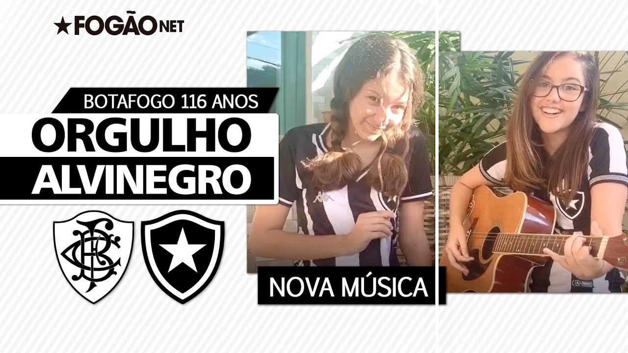 Torcedoras cantam o orgulho alvinegro no aniversário do futebol do Botafogo:  'São 116 anos de tradição'