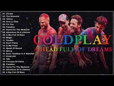 Best of coldplay greatest hits full album 2018  playlist  hq