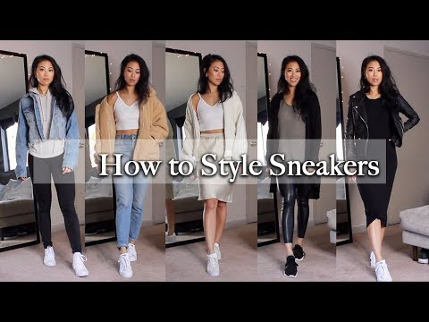 HOW TO STYLE SNEAKERS / NOT SO BASIC OUTFITS | CHRISTINE LE