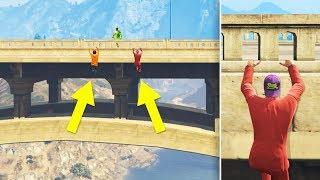 Extreme DANGER Hiding Spots in GTA 5 Online!