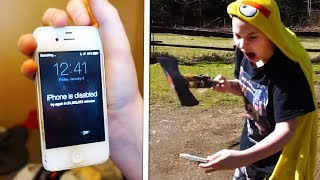 10 INSANE Kids Who Destroyed Their New iPhones!